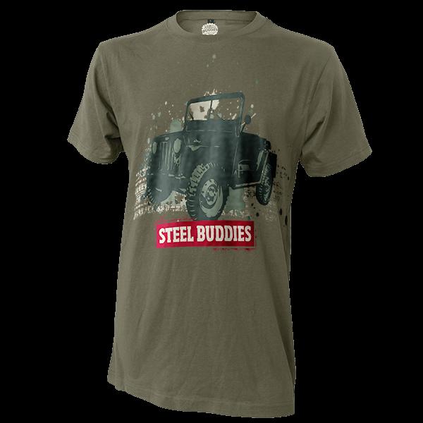 """Steel Buddies T-Shirt """"Jeep"""""""