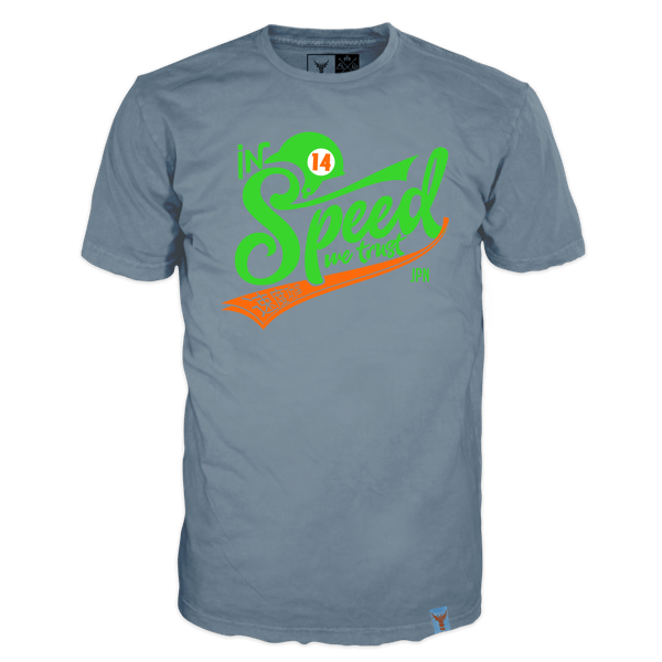 "T-Shirt ""In Speed we trust"""