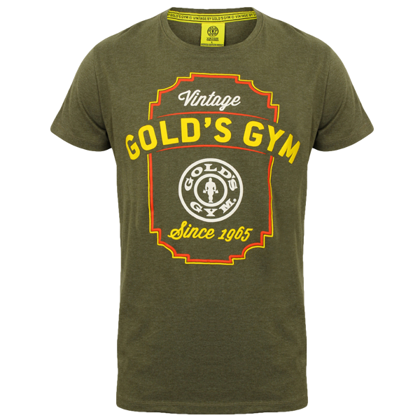 "T-Shirt ""Vintage Gold's Gym"""