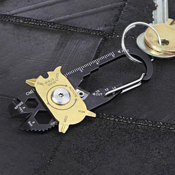20-in-1 Pockettool Schlüsselanhänger