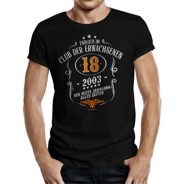 """T-Shirt """"Club der Erwachsenen"""""""