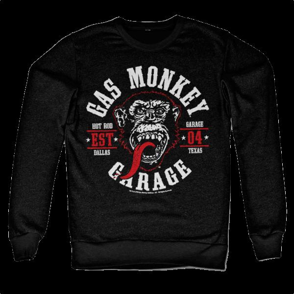 """Gas Monkey Garage Sweatshirt """"Round Seal"""""""