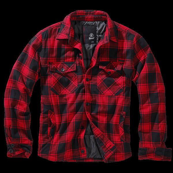 "Wattierte Hemdjacke ""Lumberjack"" von Brandit"