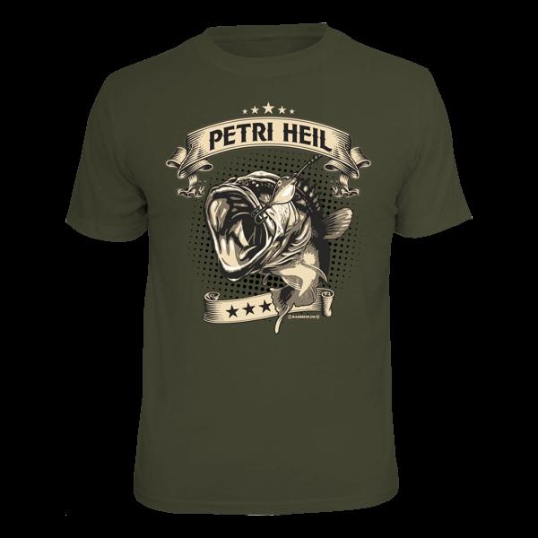 "T-Shirt ""Petri Heil"""