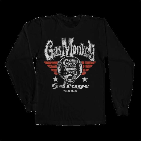 "Gas Monkey Garage Longsleeve ""Flying High"""