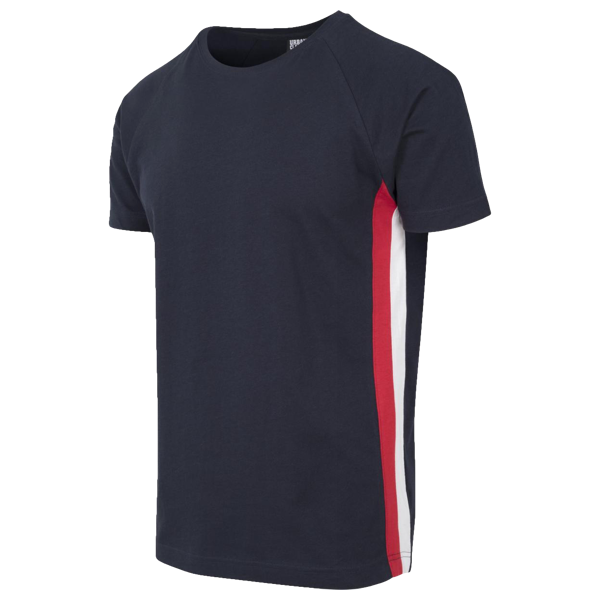 "Raglan T-Shirt ""Side Stripe"" von Urban Classics"