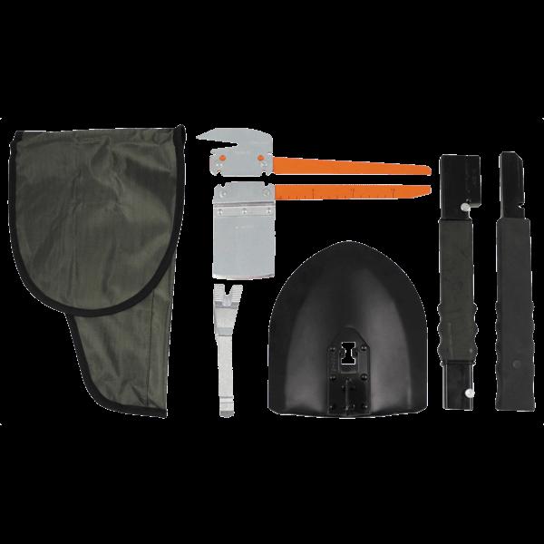 Multiwerkzeug-Set (Spaten, Hammer, Axt, Säge, Pickel)
