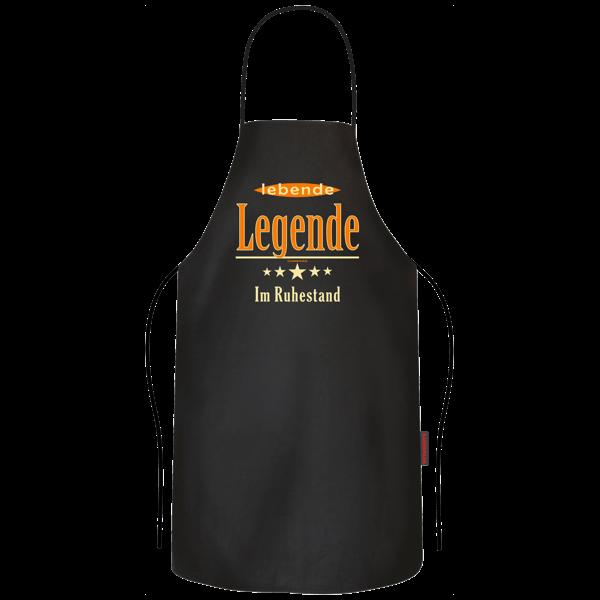 """Grill- und Kochschürze """"Lebende Legende im Ruhestand"""""""