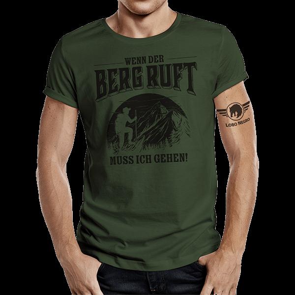 """T-Shirt """"Wenn der Berg ruft"""""""
