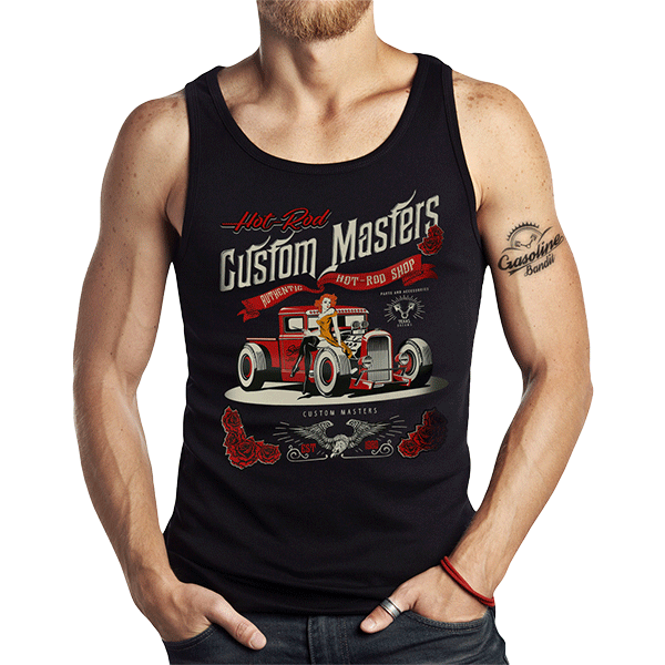 "Tank Top ""Hot Rod Shop"" von Gasoline Bandit"
