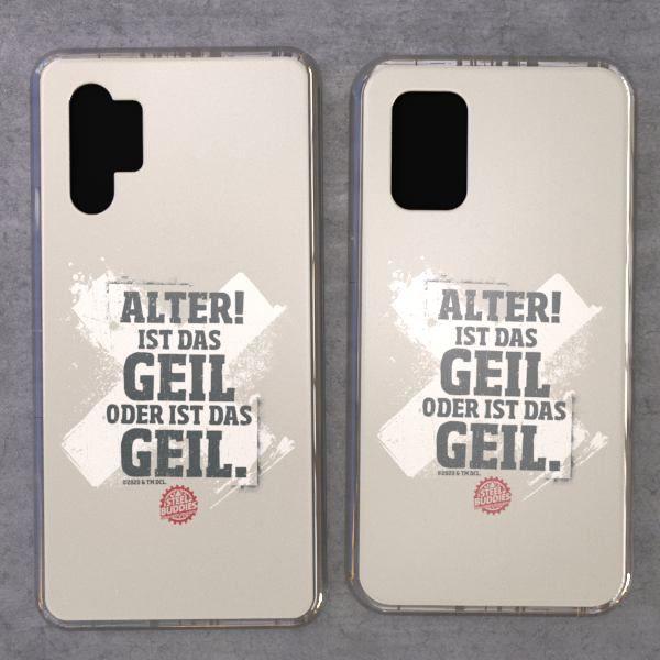 """Steel Buddies Cover """"Geil"""" für Samsung Galaxy Note Modelle"""