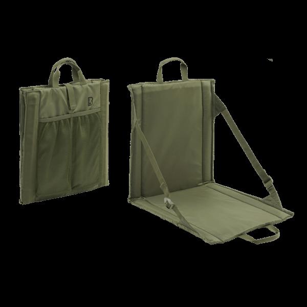 Faltbarer Sitz mit Rückenlehne