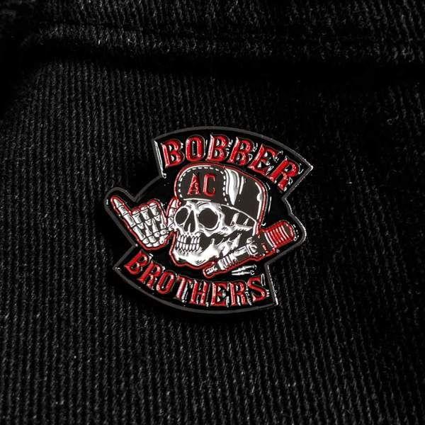 "Pin ""Original Logo"" von Bobber Brothers"